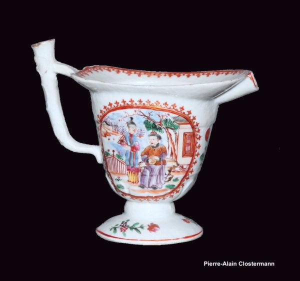 """Pot à lait en aiguière """"casque"""" - vers 1775"""