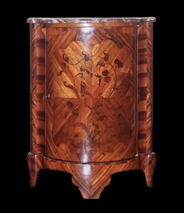 Encoignure en bois de Violette - Epoque Louis XV