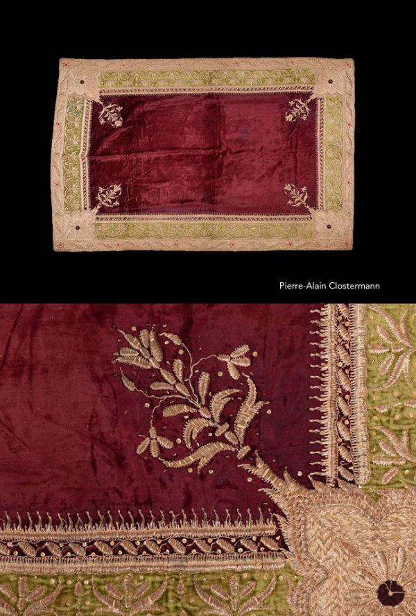 Tapis de Maharaja en broderie - Inde, XIXe siècle