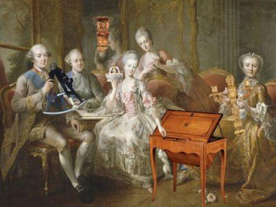 CLOSTERMANN - Présentation par la famille du duc de Penthièvre par Charpenier