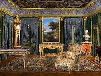 Clostermann Antiques - Présentation 3d - le salon imaginaire